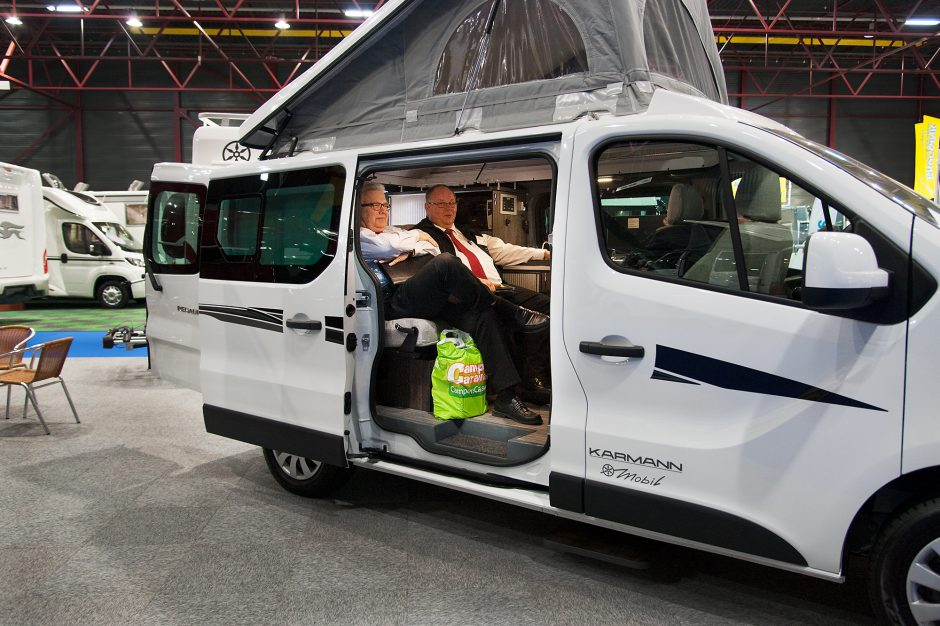 Caravans spotten voor NRCQ