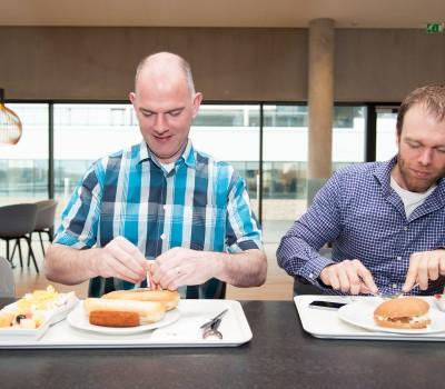Bedrijfsreportage Hutten catering voor NRCQ